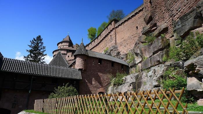 Замок Верхний Кенигсбург (Chateau du Haut-Koenigsbourg) 30504