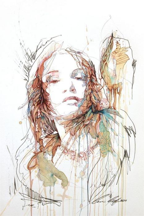 Аанглийский художник Carne Griffiths 3