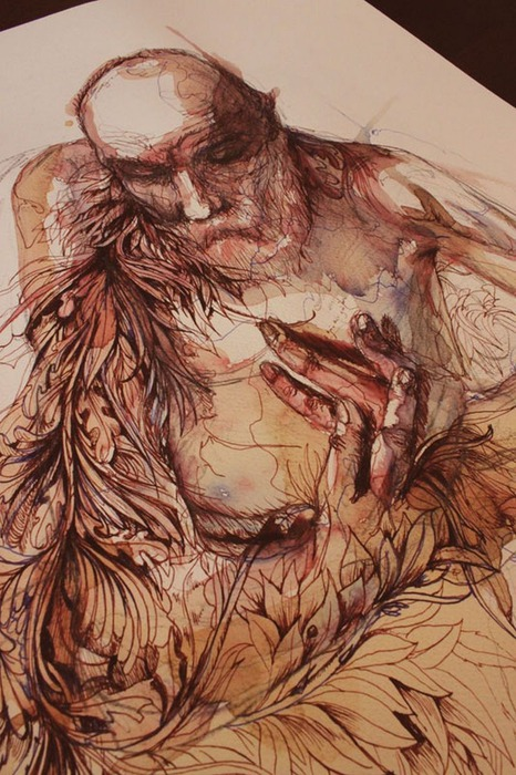 Аанглийский художник Carne Griffiths 5