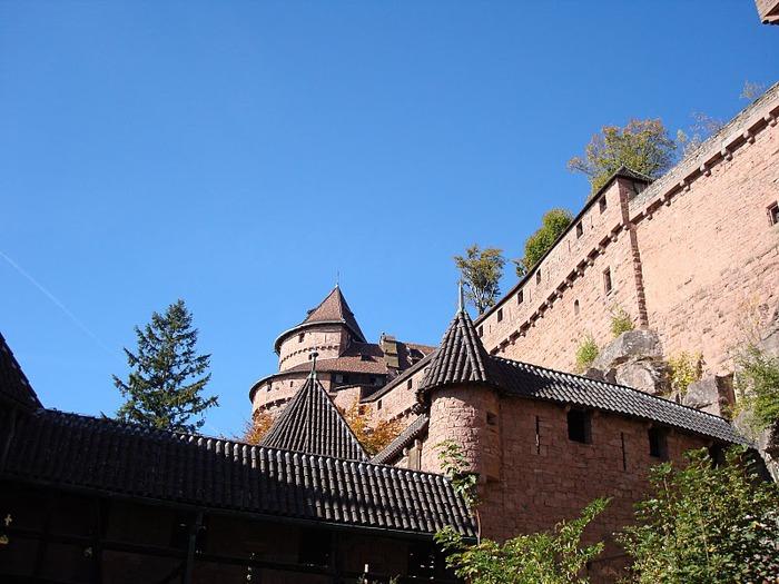 Замок Верхний Кенигсбург (Chateau du Haut-Koenigsbourg) 50089