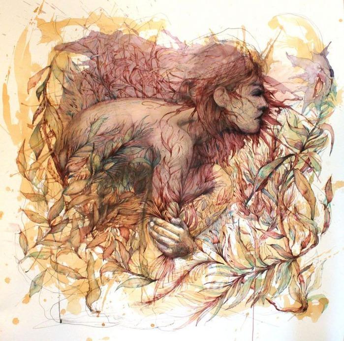 Аанглийский художник Carne Griffiths 11