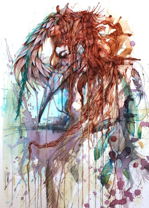 Аанглийский художник Carne Griffiths 17