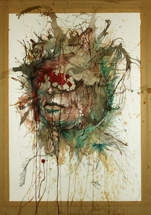 Аанглийский художник Carne Griffiths 28