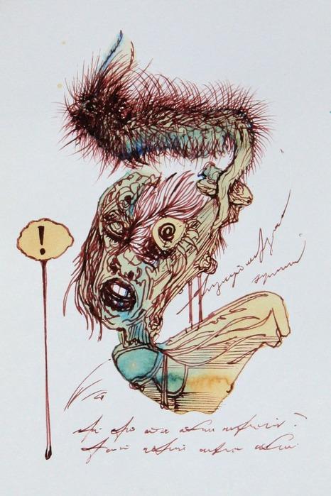 Аанглийский художник Carne Griffiths 46