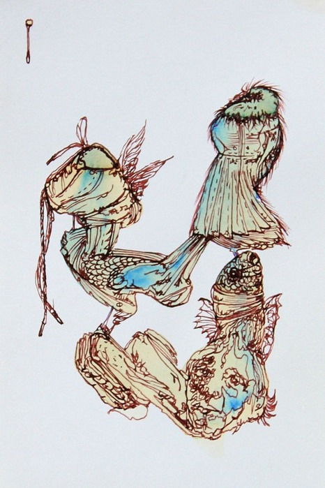 Аанглийский художник Carne Griffiths 49