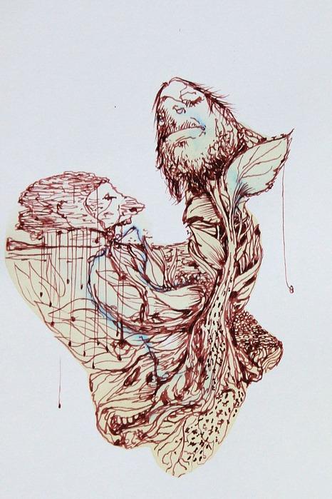 Аанглийский художник Carne Griffiths 52