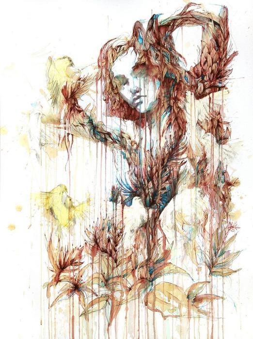 Аанглийский художник Carne Griffiths 60