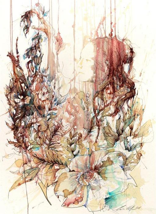 Аанглийский художник Carne Griffiths 62