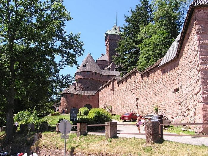 Замок Верхний Кенигсбург (Chateau du Haut-Koenigsbourg) 60049