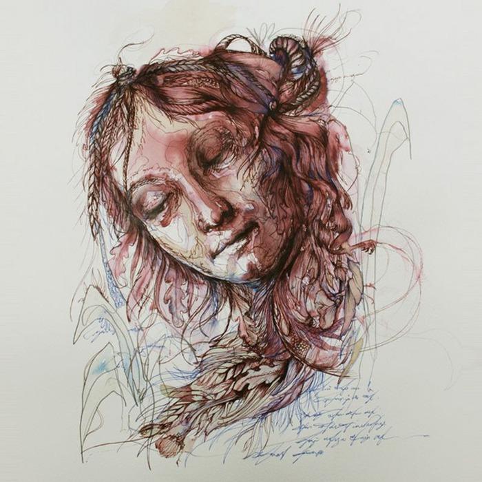 Аанглийский художник Carne Griffiths 75