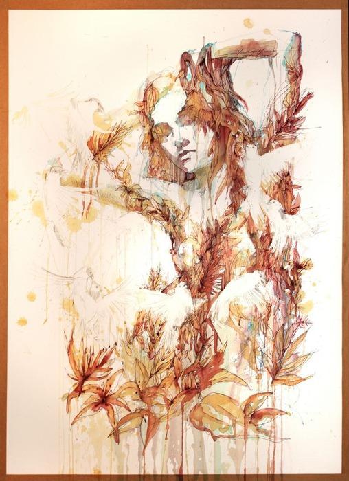 Аанглийский художник Carne Griffiths 76