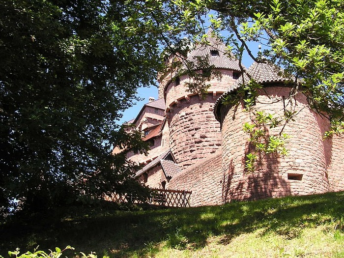 Замок Верхний Кенигсбург (Chateau du Haut-Koenigsbourg) 91690