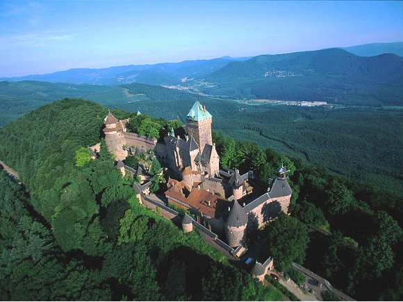 Замок Верхний Кенигсбург (Chateau du Haut-Koenigsbourg) 86506