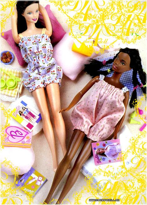 Как сшить одежду для куклы барби своими руками без машинки