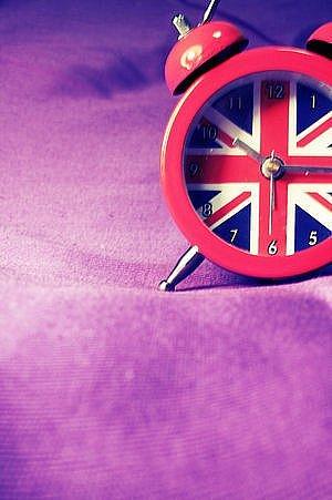"""Схема вышивки  """"Британский флаг вариация """": предпросмотр."""