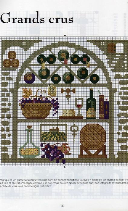 Сэмплеры вышивка схемы для кухни 66