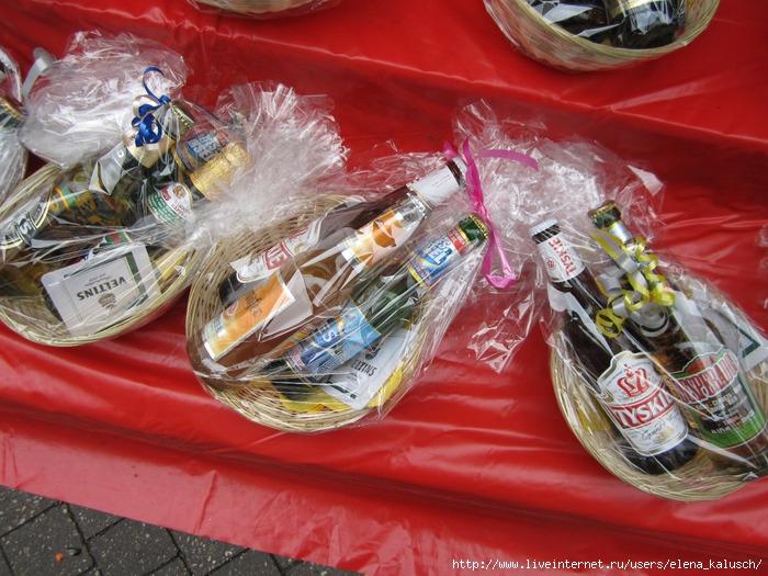 Оригинальный подарок из пива и рыбы 56