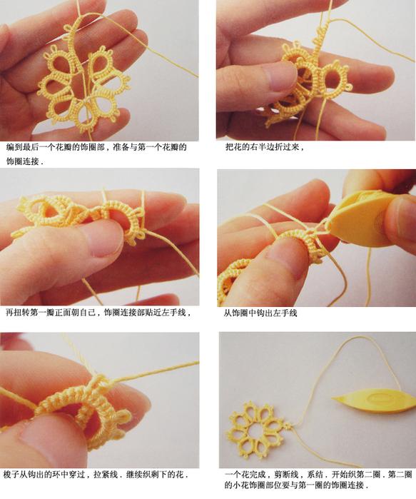 Мастер класс вязание фриволите челночное вязание 79