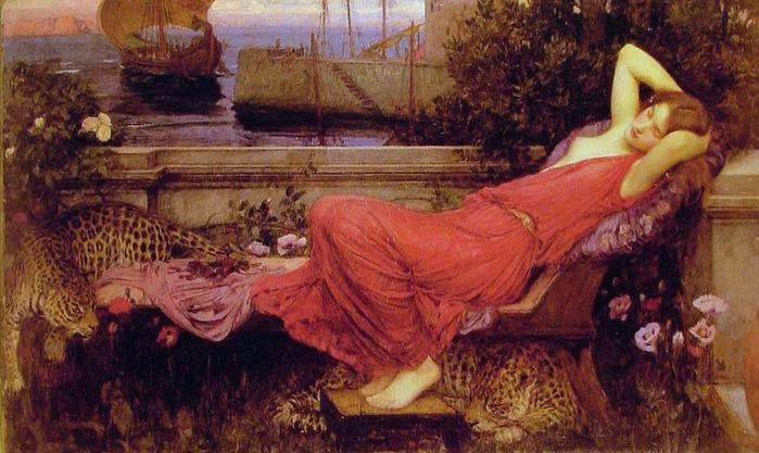 John William Waterhouse  ak (700x417, 109Kb)