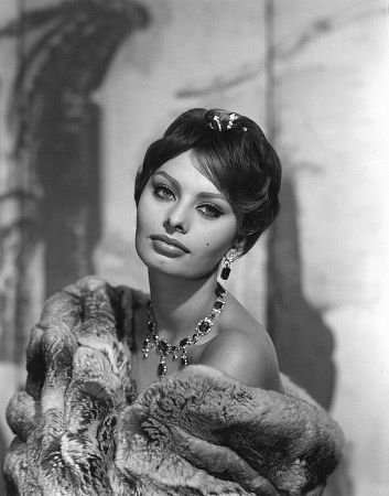 Sophia Loren (Foto) .