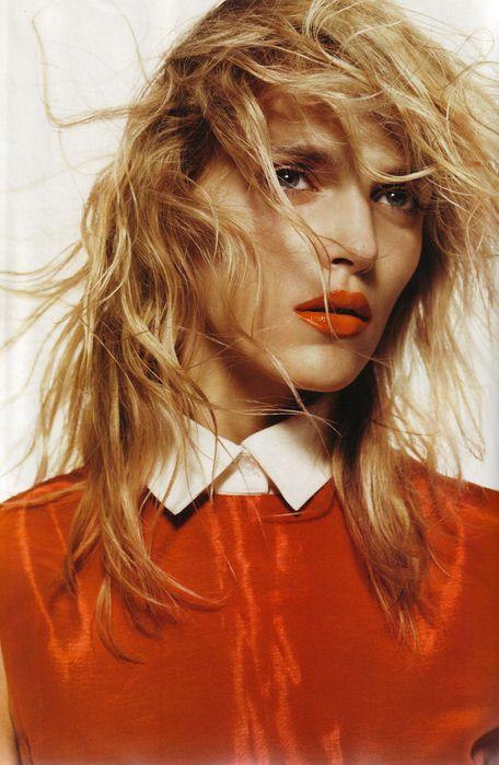 Аня Рубик на страницах Vogue UK September 2011