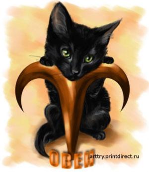 И готовы постоять за честь и свободу и перед более...  Кошки, рожденные под знаком Овен, не привередливы в еде.