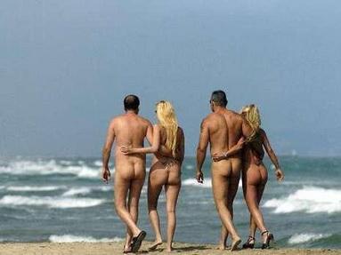 Порно пляж кап даг
