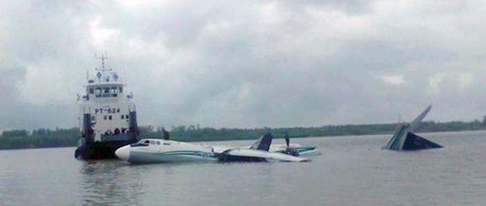 ...посадки пассажирского самолета Ан-24 в Томской.