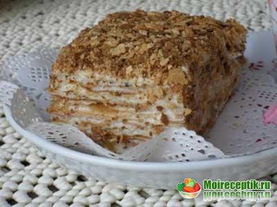 Рецепт торт наполеон обсуждение на