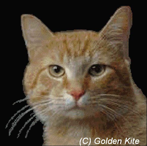 """golden kite.  Вторник, 12 Июля 2011 г. 10:39. схема вышивки. схемы. кошки. картина. a href= """"http..."""