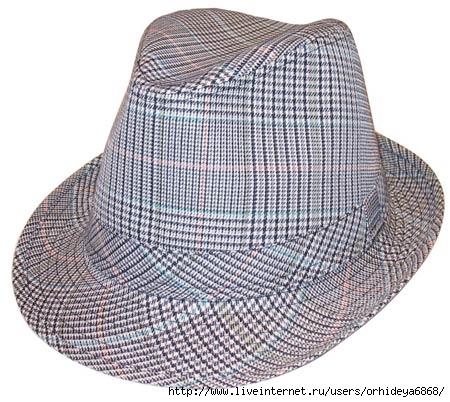 А. Выкройка детской кепки (шапочки) в натуральную величину.