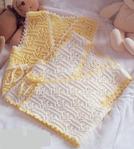 Вязанная жилетка регланом