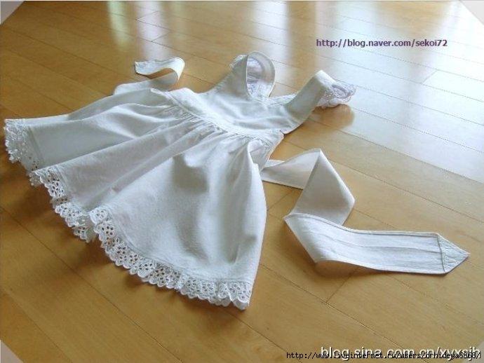 Comment coudre une tr s belle petite robe fillette de a for Boite a couture pour fillette