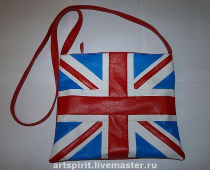 "Сумка  ""Британский флаг-2 """