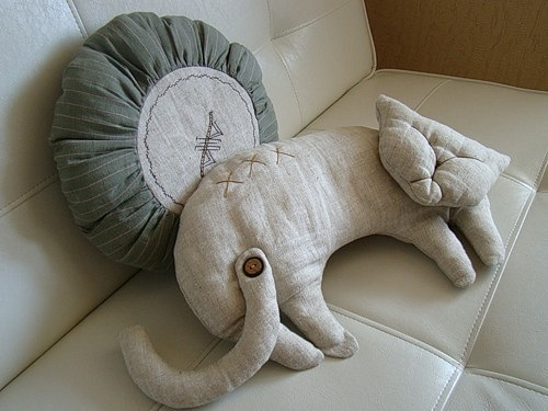 玩具抱枕 - maomao - 我随心动