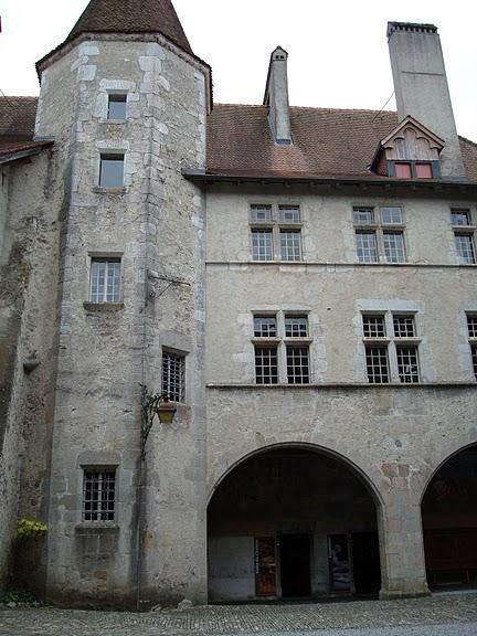 Замок графов де Грюйер (Chateau de Gruyeres) 66976