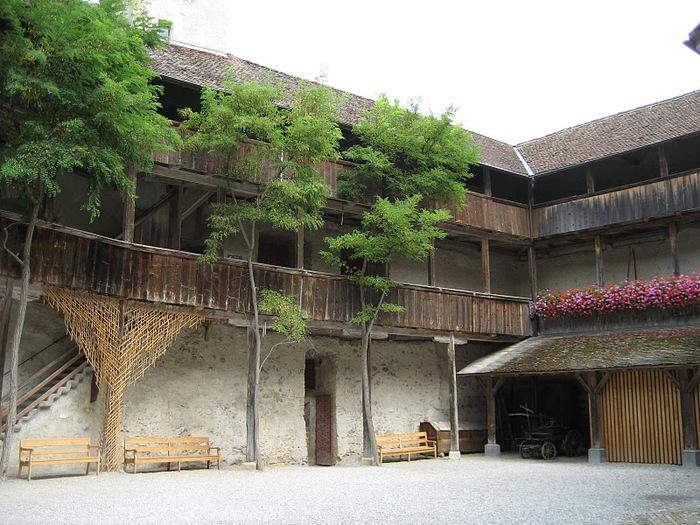 Замок графов де Грюйер (Chateau de Gruyeres) 95294