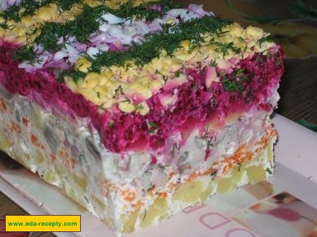 Селедка под шубой рецепт пошаговый с фото