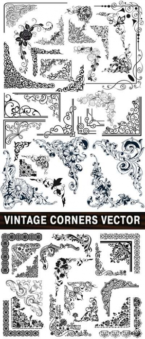 4103842_Vintage_corners_vector_400 (298x700, 179Kb)