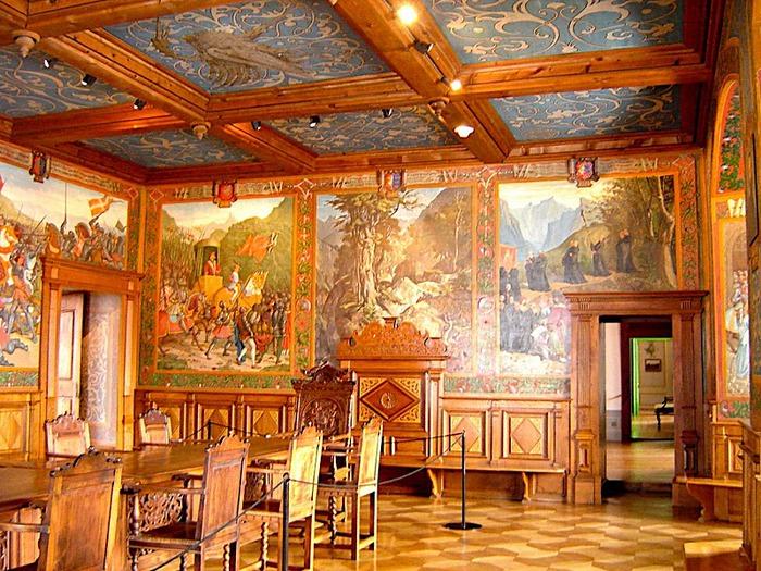 Замок графов де Грюйер (Chateau de Gruyeres) 71787