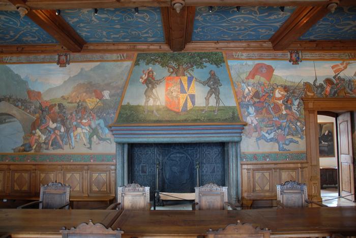 Замок графов де Грюйер (Chateau de Gruyeres) 52531