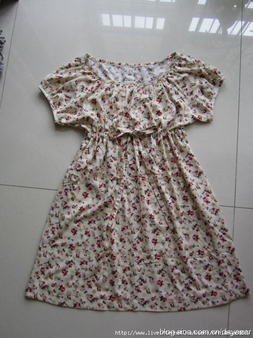 Сшить платье с завышенной талией своими руками
