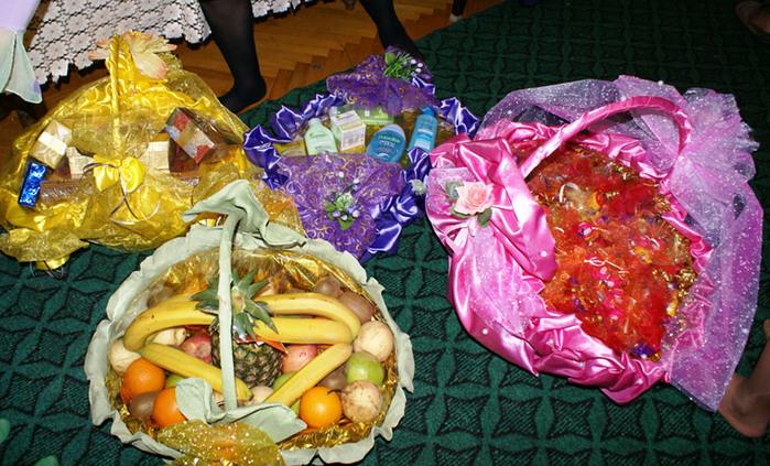 Подарки при сватовстве со стороны невесты 496