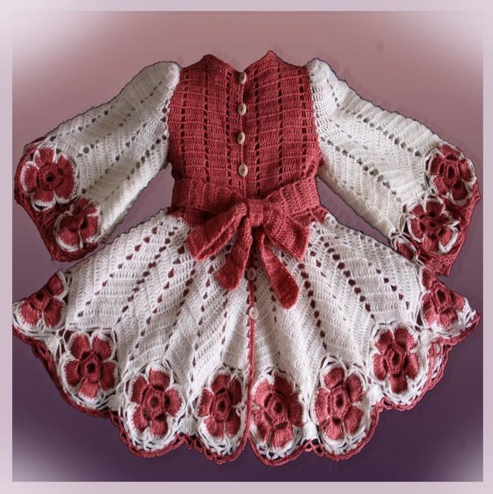Вязание на осинке девочками 491