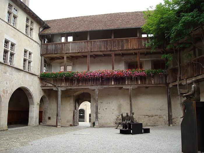 Замок графов де Грюйер (Chateau de Gruyeres) 42608