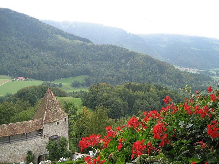 Замок графов де Грюйер (Chateau de Gruyeres) 80370