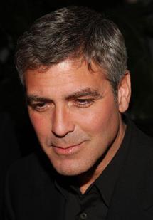 Джордж Клуни – любитель гамбургеров
