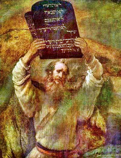 Моисей и скрижали (400x525, 71Kb)
