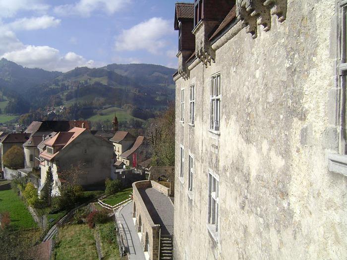 Замок графов де Грюйер (Chateau de Gruyeres) 46734