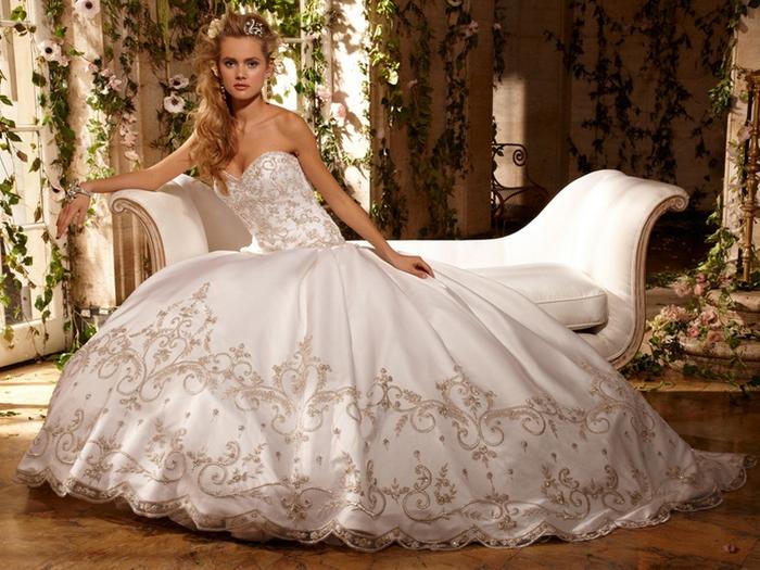 Свадебные платья фото самые шикарные